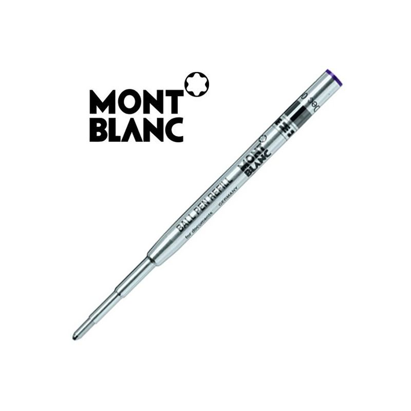 1 recharge bille montblanc 174 violet am 233 thyste recharge stylo